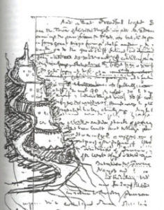 Tower of Kirith Ungol sketch, Sauron Defeated, p. 19