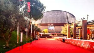 Roma: red carpet ad Auditorium
