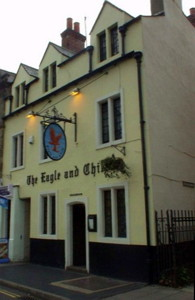 Pub Eagle and Child a Oxford