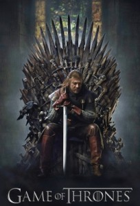 "Poster serie tv ""Game of Thrones"""