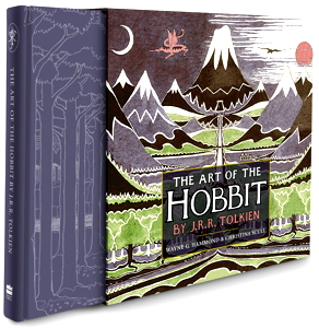 "Il libro ""The Art of the Hobbit"" di J.R.R. Tolkien"