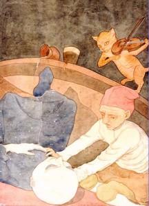 Canzone della Locanda - illustrazione dell'artista Hirilaelin