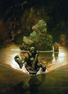 Gollum di Frank Frazetta