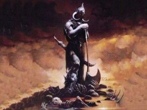 "Illustrazione ""Morte"" di Frank Frazetta"