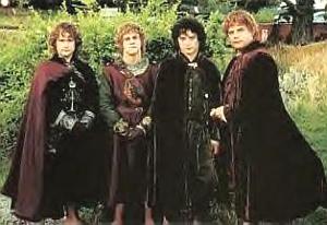 Abiti dei quattro Hobbit a Gondor