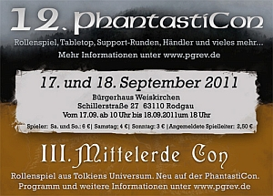 Manifestazione PhantastiCon / MittelErde