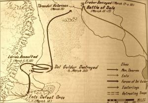 Mappa della vera Guerra del Nord