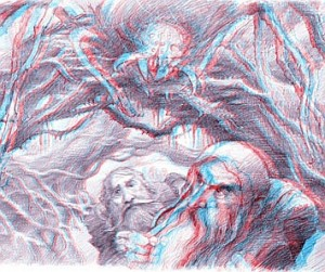 "Schizzo sul 3D del film ""Lo Hobbit"""