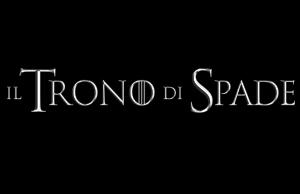 "Logo ""Trono di Spade"""