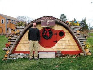 Case Hobbit - 03: Rocky Pillsbury e la sua casa a Portland (Maine, Usa)