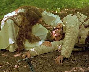 """Riprese dal trailer di """"Nienor Níniel"""": Nienor e Turin"""
