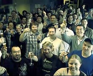 """Gli sviluppatori della Snowblind, che ha creato """"The War in the North"""", celebrano il Tolkien Toast 2011"""