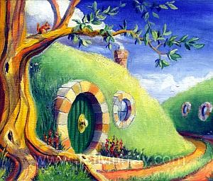 """Immagine: """"Shire Dreams"""" di Jef Murray"""