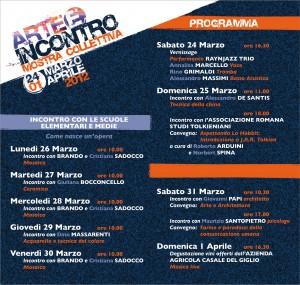 """Manifestazione: """"Arte e Incontro 2012"""" ad Aprilia"""