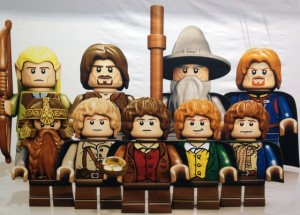 Lord of the Rings: modellini della Lego