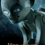 Poster di Gollum della Lego