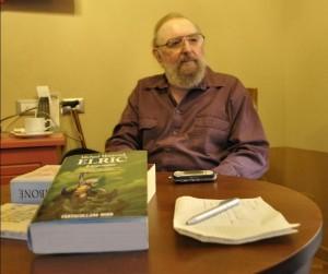 Michael Moorcock - fotografia tratta dal sito di Rill