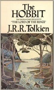 Copertina dell'edizione inglese dello Hobbit (1937)