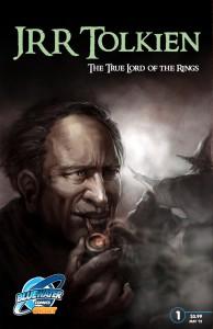 Copertina biografia a fumetti di J.R.R. Tolkien