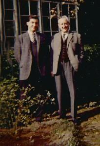 J.R.R. Tolkien e il nipote Michael Tolkien