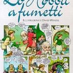"""Libro: copertina italiana de """"Lo Hobbit a fumetti"""""""