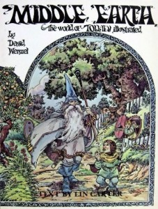"""Libro: """"Middle-earth - The World of Tolkien Illustrated"""" di David Wenzel"""