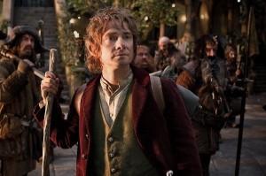 Bilbo Baggins nel film Lo Hobbit