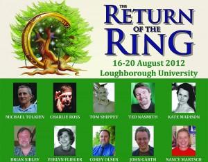 """Locandina di """"The Return of the Rings"""" della Tolkien Society"""