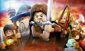 Videogiochi: copertina di Lego - The Lord of the Rings