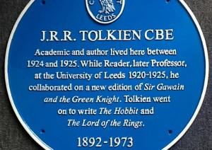 """Leeds, la """"placca blu"""" per J.R.R. Tolkien"""