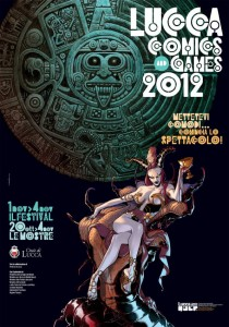 Lucca Comics and Games: manifesto 2012