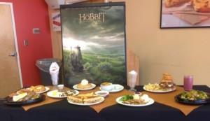Menù di Dennys sullo Hobbit