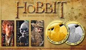 Banner Lo Hobbit sito delle poste della Nuova Zelanda