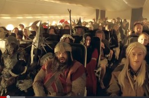 Spot tv della Compagnia aerea New Zealand Airlines