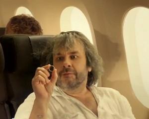 Peter Jackson nello spot della New Zealand Airlines