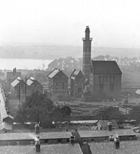 The Waterworks Chimney, Edgbaston (1913)