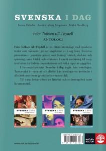 Libri: antologia svedese, quarta di copertina