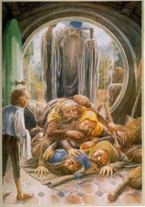 Alan Lee: I nani nello Hobbit