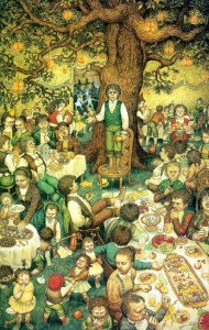 festa di Bilbo