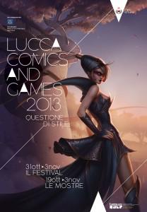 Locandina Lucca Comics 2013