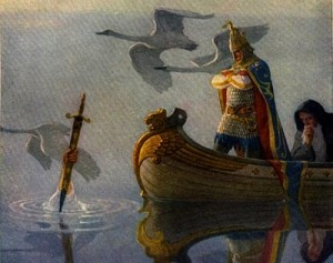 """Boy's King Arthur"" di N. C. Wyeth"