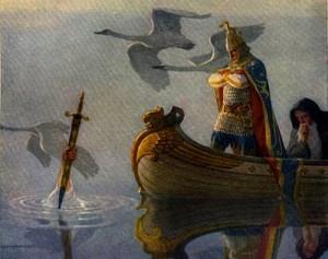 """""""Boy's King Arthur"""" di N. C. Wyeth"""