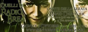 Radio Brea: Locandina 3 ottobre