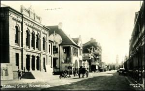 Maitland Street a Bloemfontein (1903)