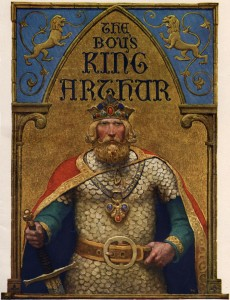 """King Arthur"" di N. C. Wyeth"