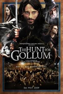 """Locandina """"Hunt for Gollum"""""""