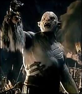 """Azog in """"Lo Hobbit 2 - La Desolazione di Smaug"""""""