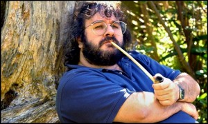 Peter Jackson come Bilbo Baggings