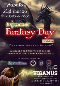 "Eventi: ""Fantasy Day 1"""