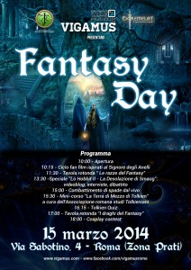"Eventi: ""Fantasy Day 3"""